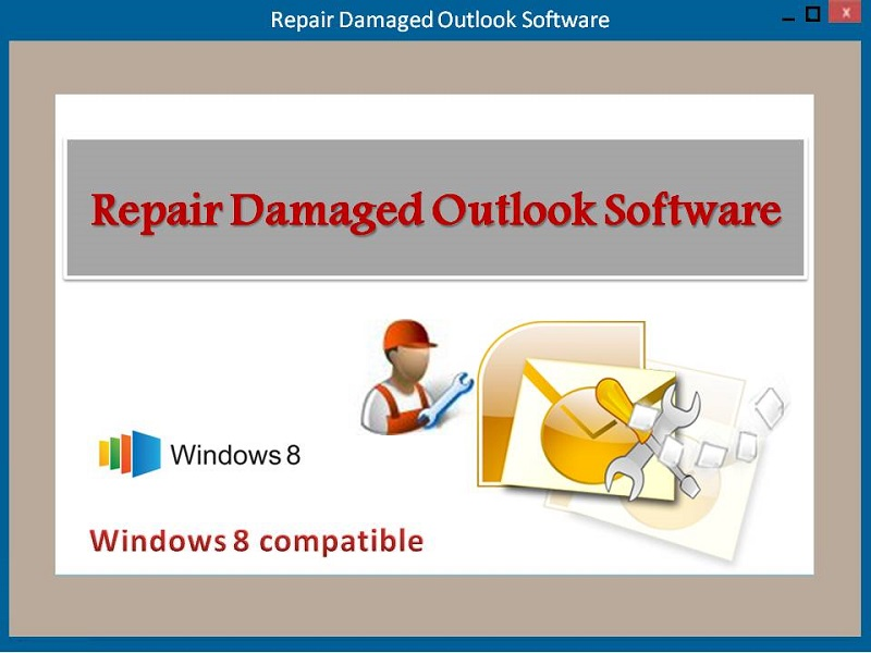 Software to Repair damaged Outlook on Windows